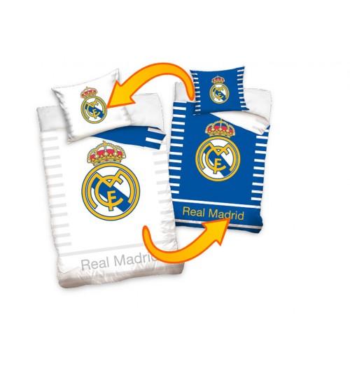 Pościel - Real Madrid - Logo, dwukolorowa