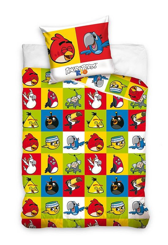Pościel - Angry Birds - Wzór 9