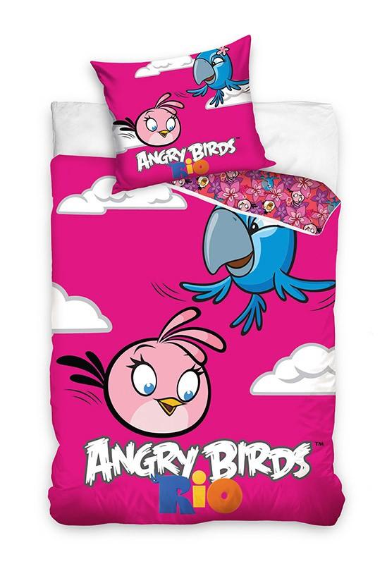Pościel - Angry Birds - wzór 7