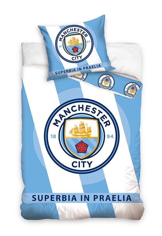 Pościel - Manchester City - wzór 2
