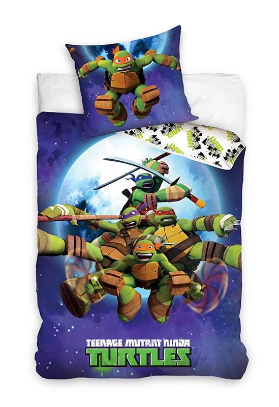 Pościel - Wojownicze Żółwie Ninja - wzór 2
