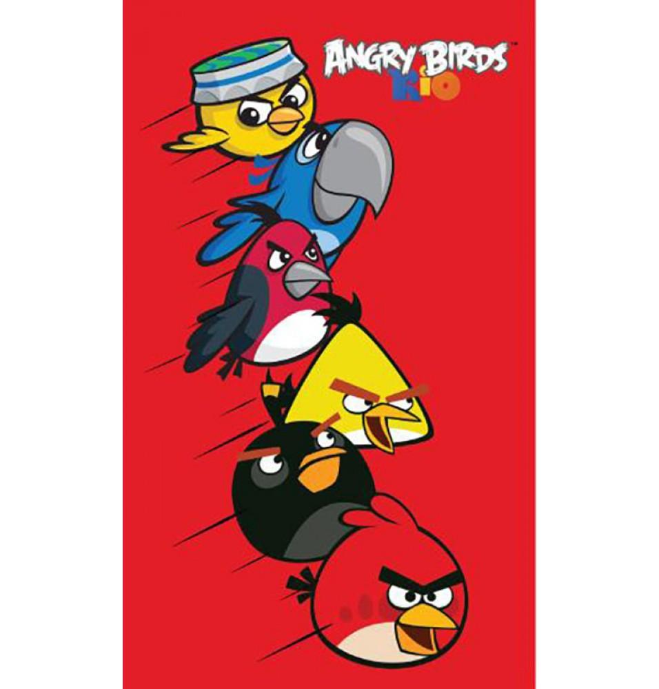 Ręcznik - Angry Birds - Wzór 6