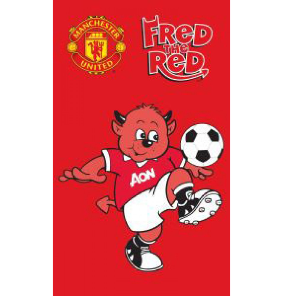Ręcznik - Manchester United - Wzór 3