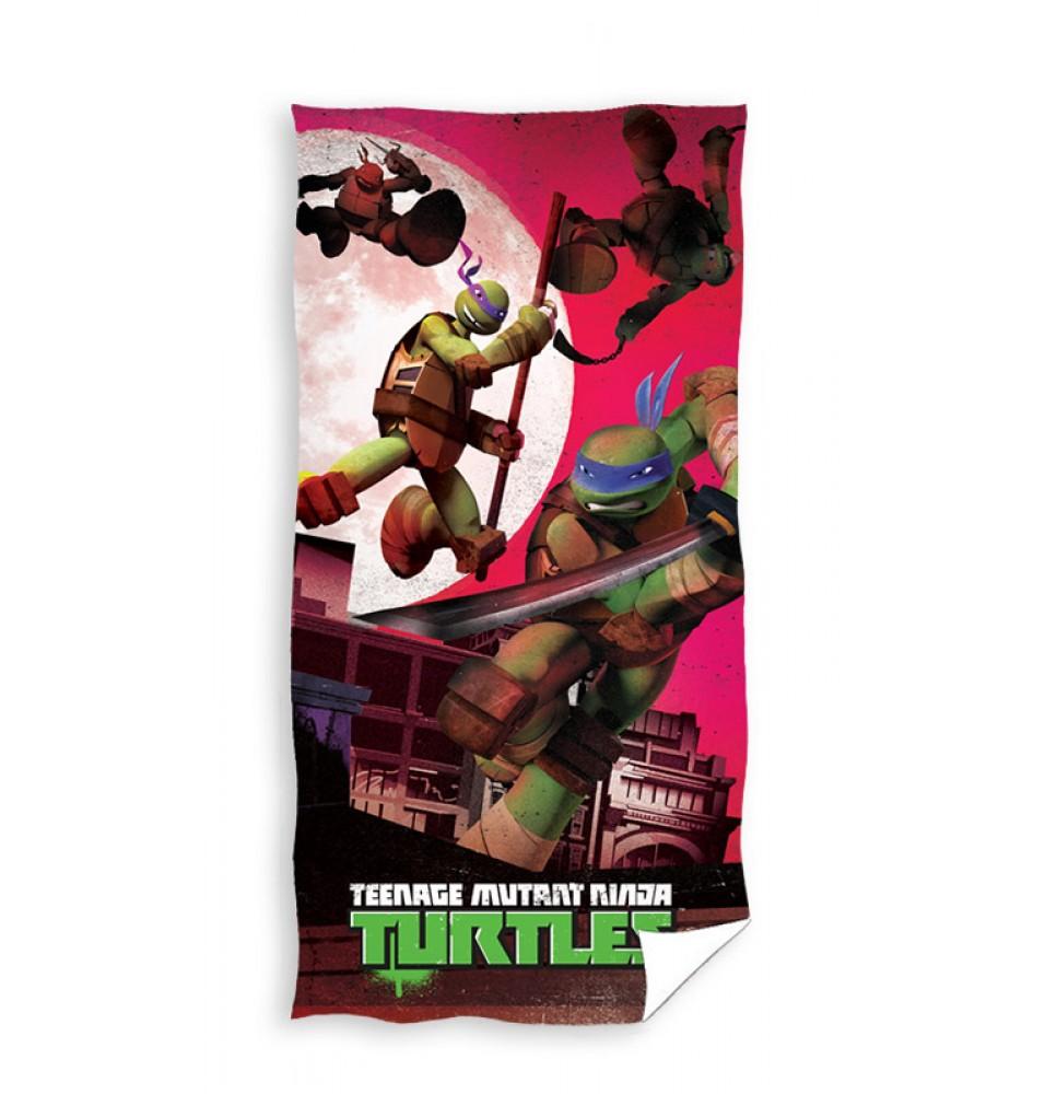 Ręcznik - Wojownicze Żółwie Ninja - wzór 2